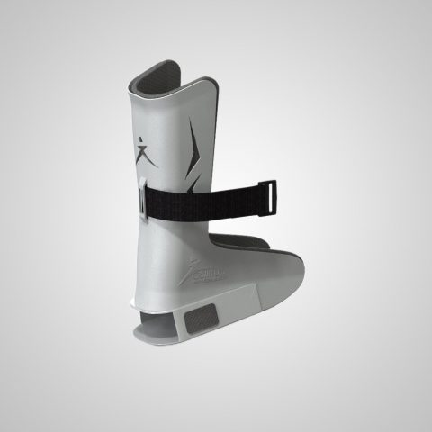 The patented GStirrup Exam Boots slip easily over the heel cup supports of nearly all existing exam tables – without tools!